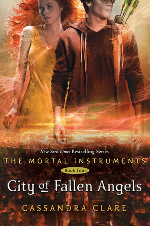 Book coverof City of Fallen Angels by Cassandra Clare, book four of the Mortal Instruments series