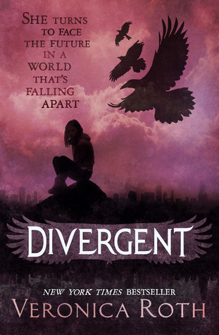 Divergent, by Veronica Roth, book cover