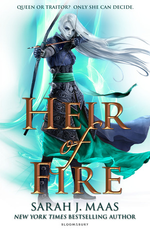 Heir of Fire, third book of Throne og Glass Series by Sarah J Maas