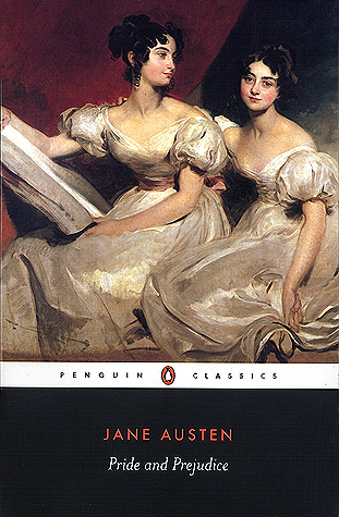 Pride and Prejudice by Jane Austen Book Cover