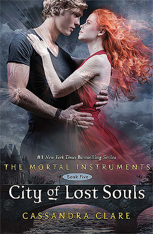 City of Lost Souls by Cassandra Clare book cover,  book five of the Mortal Instruments Series