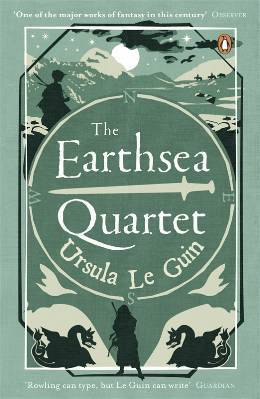Earthsea Quartet by Ursula Le Guin book cover