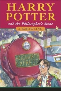 Harry Potter ad the Philosopher's Stone by J K Rowling book Cover