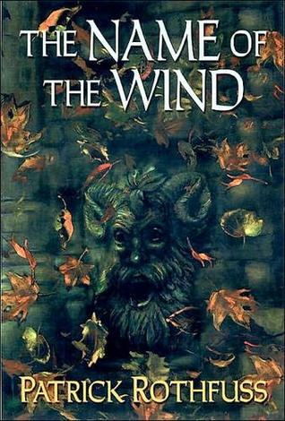 Name of the WInd by Patrick Rothfuss book cover