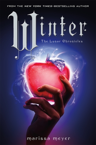 Winter, 4 book in the Lunar Chronicles Series by Merissa Meyer book cover