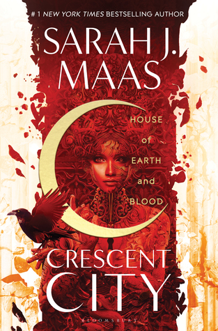 House of Earth and Blood, by Sarah J Maas, Book cover