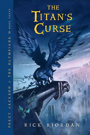 Percy Jackson and the Titan's Curse by Rick Riordan book cover