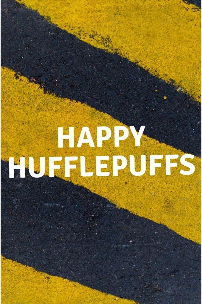Black and Yellow, Happy hufflepuffs