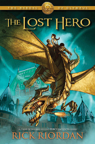 The Lost Hero, Book 1 of the Heroes of Olympus Series by Rick RIordan Book Cover