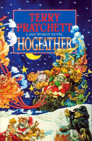 Terry Pratchett Hogfather Discworld Series book Cover
