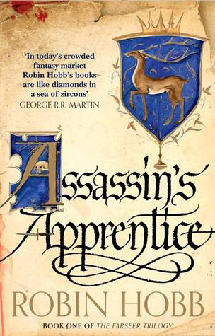 Assassin's Apprentice by Robin Hoob Book cover