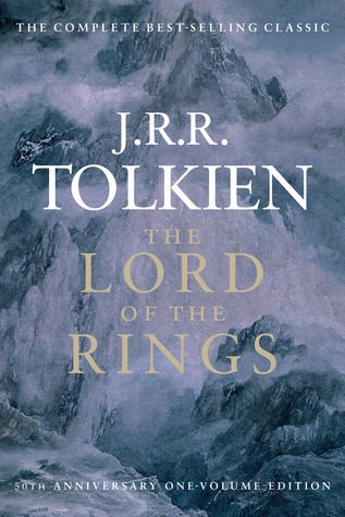 Lord of the Rings by J.R.R. Tolkien book cover