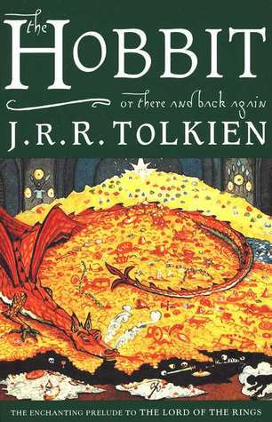 The Hobbit by J R R Tolkien book cover