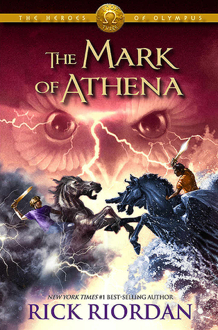 The Mark of Athena, book 3, Heroes of Olympus series, by Rick Riordan